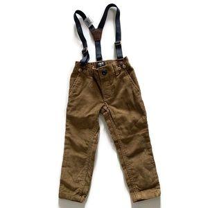 💜2 for $20💜OshKosh B'gosh cords & suspenders NWT
